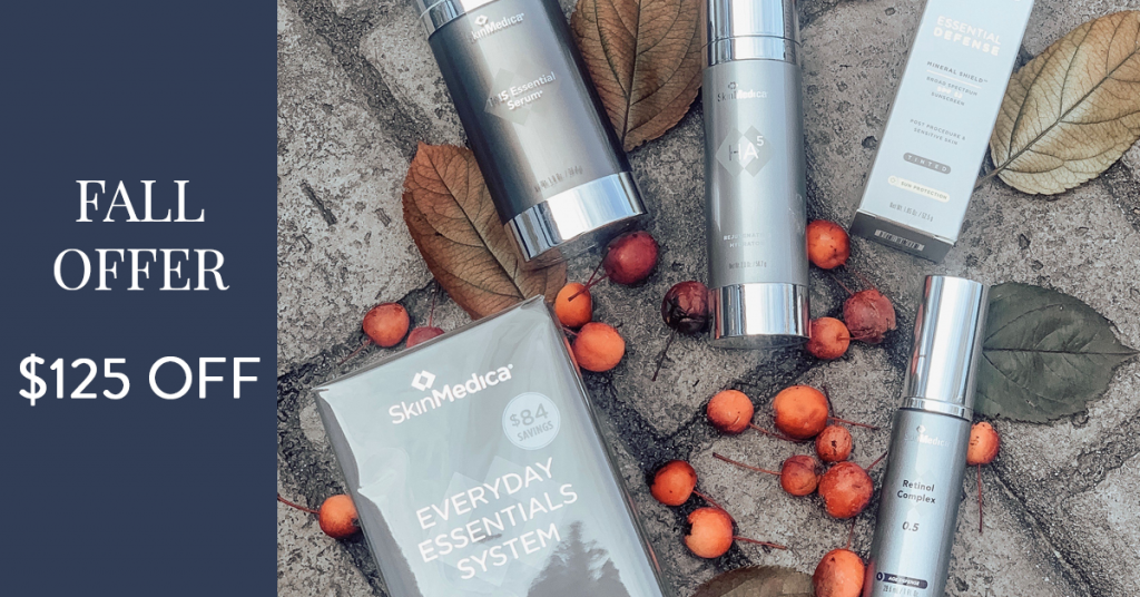 Fall offer on Everyday Essentials System bundle by SkinMedica®