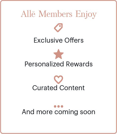 Alle member benefits include exclusive offers, personalized rewards, curated content, and more.