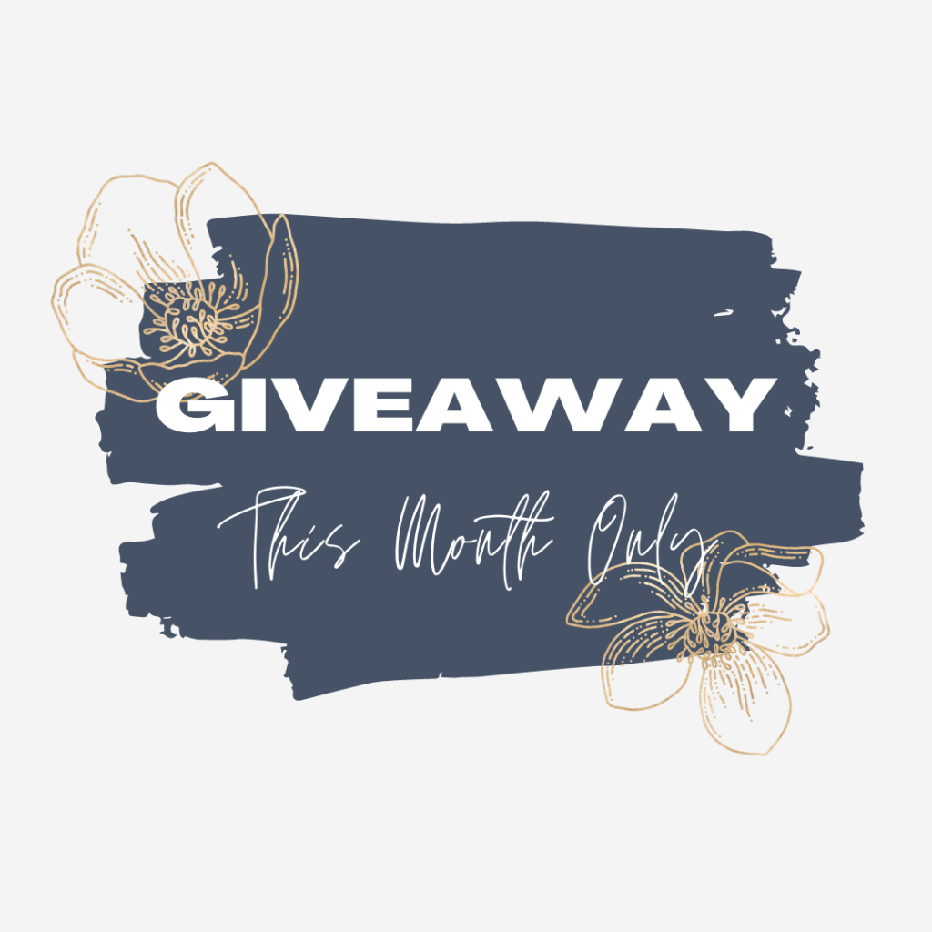 Giveaway - This month only